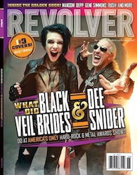 Revolver 2012 Golden Gods Issue