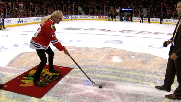 Dee Snider - Chicago Blackhawks