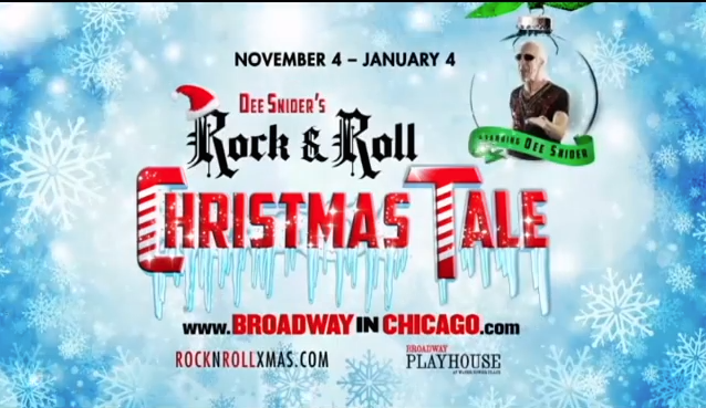 Dee Snider's Rock & Roll Christmas Tale Commercial
