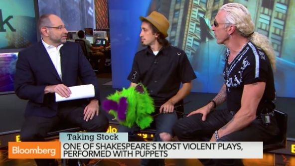 Dee & Shane on Bloomberg